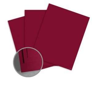 ColorMates Deep Racy Raspberry Card Stock - 12 x 12 in 65 lb Cover Smooth 25 per Package