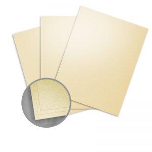 Elan Metallics Gold Paper - 8 1/2 x 11 in 80 lb Text Metallic C/2S 25 per Package