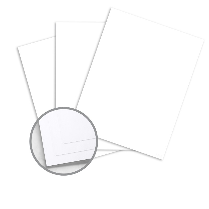Envirographic 100 COLORS White Paper - 8 1/2 x 11 in 20 lb Bond Smooth 100% Recycled 500 per Ream
