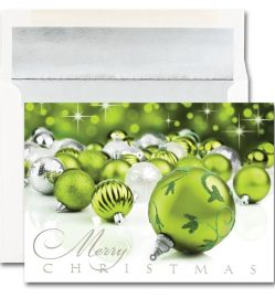 Merry Christmas Ornaments Cards