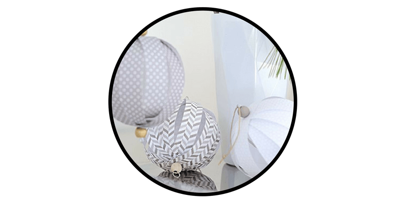 paper christmas ornaments paper globes
