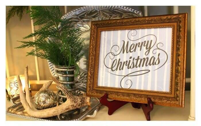 last minute christmas printables blue refresh restyle