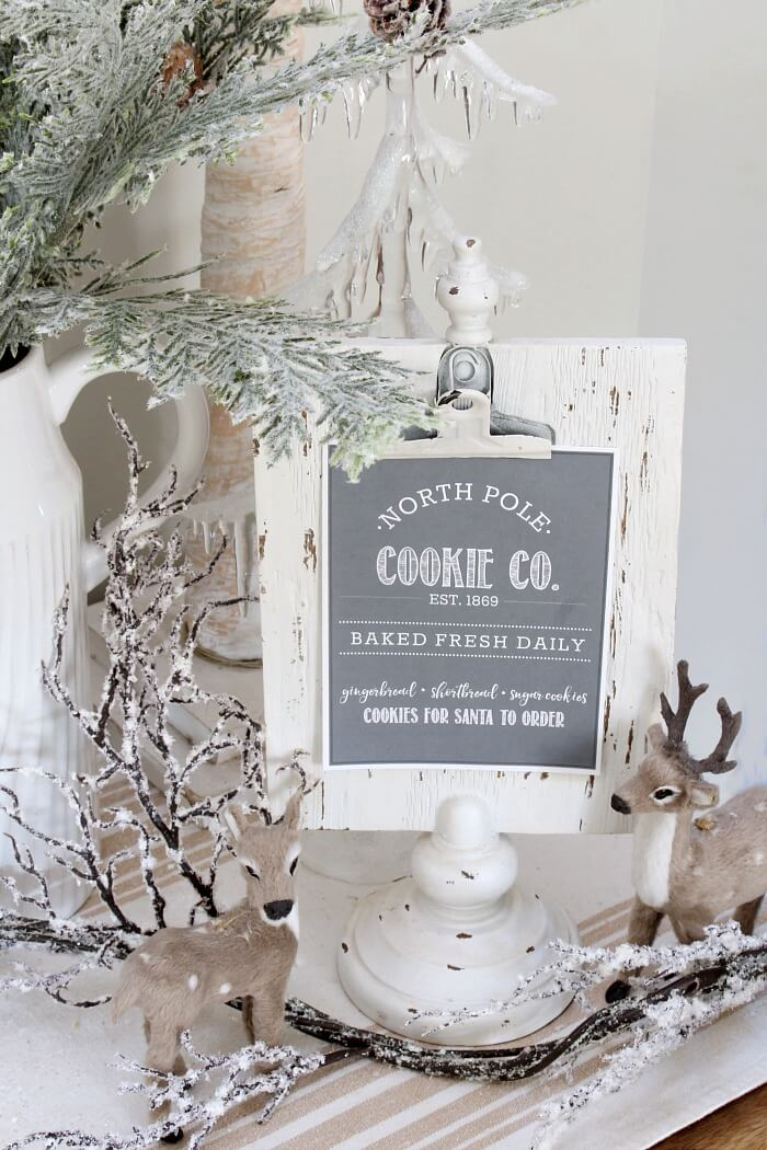 last minute christmas printables cookies clean scentsible