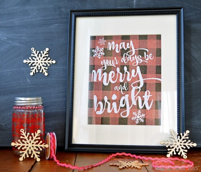 last minute christmas printables merry bright mad in crafts
