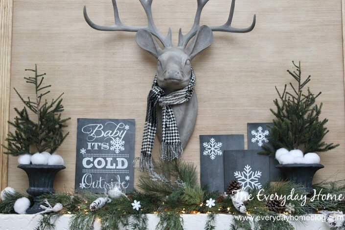 last minute christmas printables chalkboard everyday home