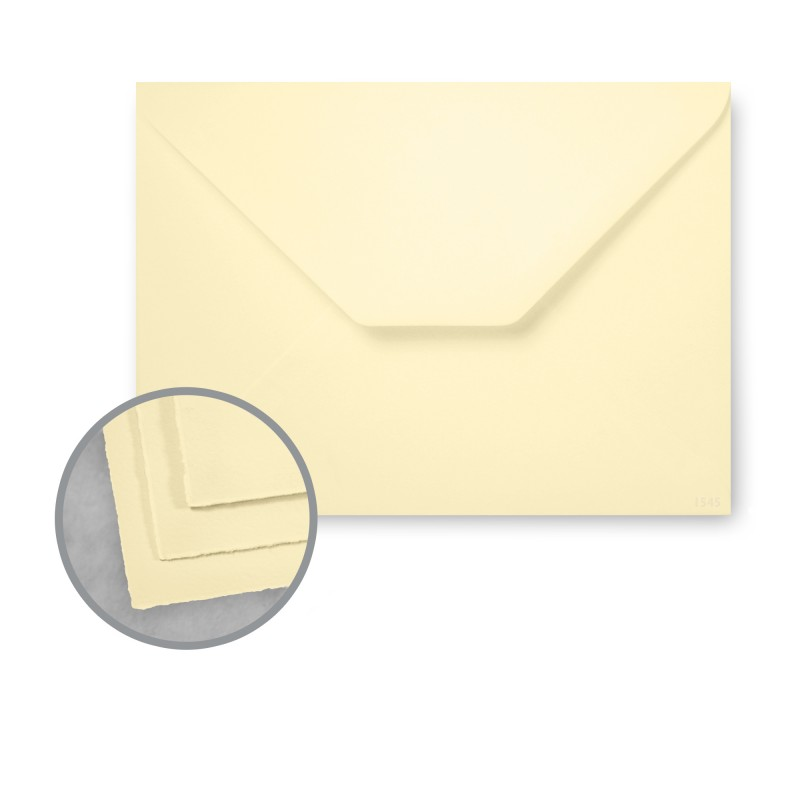 Arturo Buttercream Envelopes - Arturo Petite Enclosure (2.75 x 4) 81 lb Text Felt 100 per Box