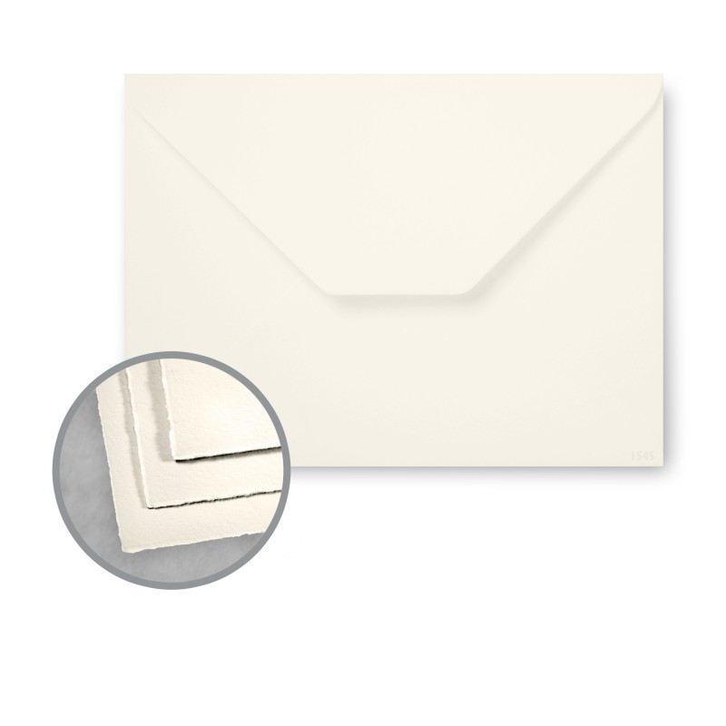 Arturo Soft White Envelopes - Arturo Petite Enclosure (2.75 x 4) 81 lb Text Felt 100 per Box