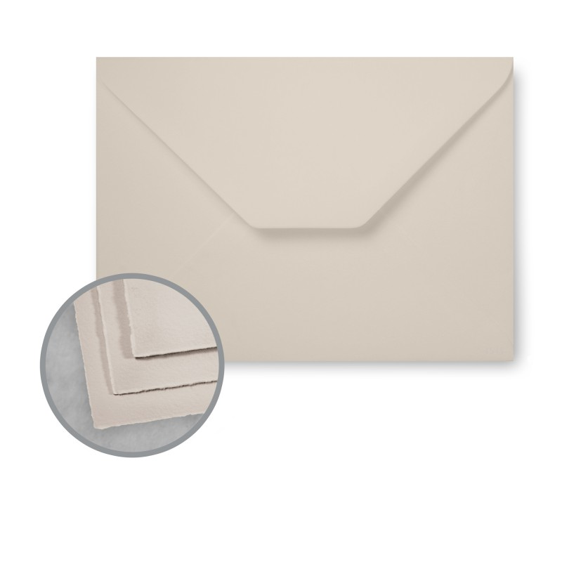Arturo Stone Grey Envelopes - Arturo Petite Enclosure (2.75 x 4) 81 lb Text Felt 100 per Box