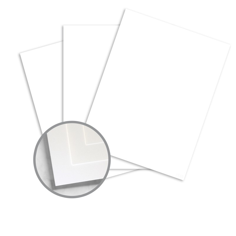 Color Copy 98 Bright White Card Stock - 8 1/2 x 11 in 80 lb Cover 250 per Package
