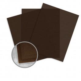 Curious Translucents Chocolate Vellum Paper 8 1/2 x 11 27lb Bond