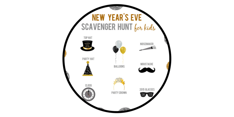 nye new years eve decorations activities reasons skip housework printable scavenger hunt kids