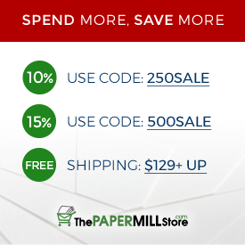 Discount coupons for the paper mill store