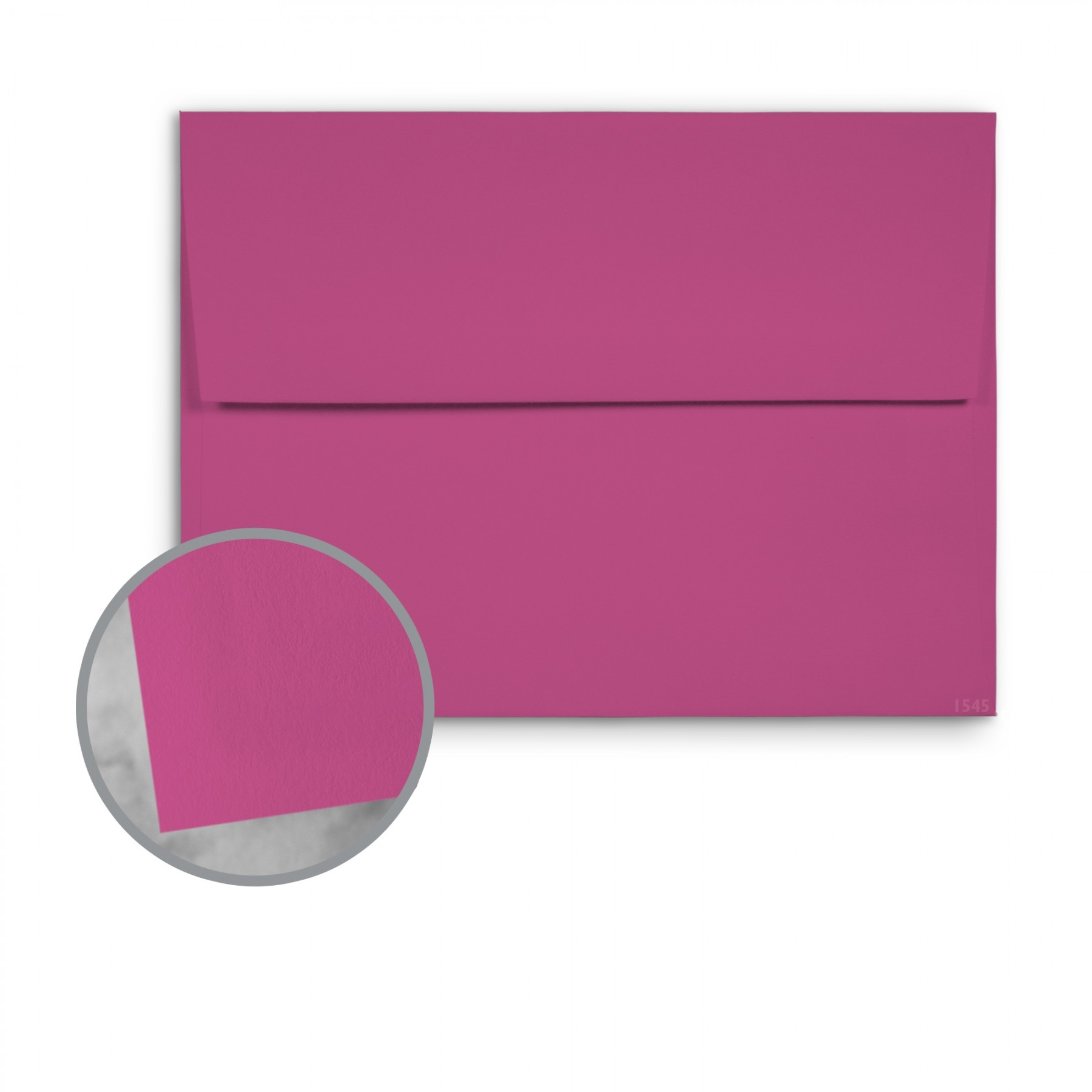Basis Antique Vellum Dark Magenta Envelopes 70 lb Text Vellum - 250 per Box
