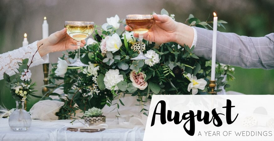 year of weddings guide month august