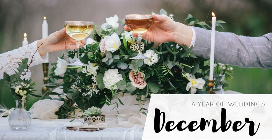 year of weddings guide month december