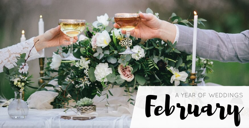 year of weddings guide month february