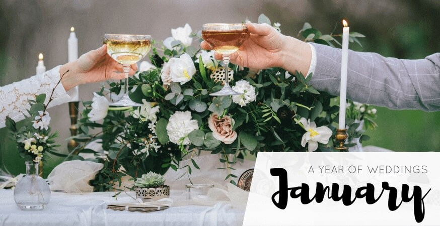 year of weddings guide month january