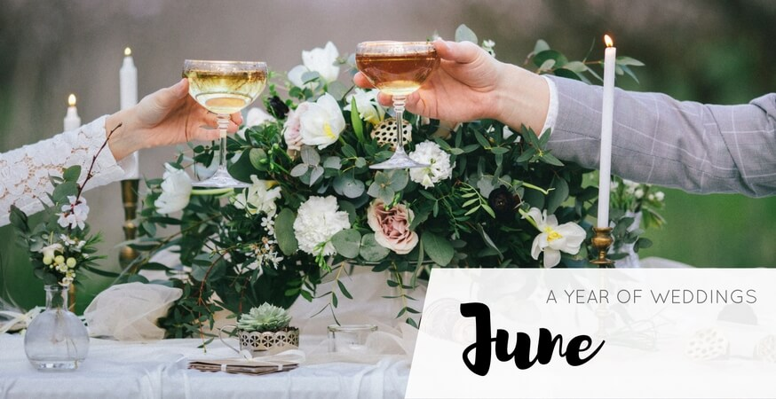year of weddings guide month june