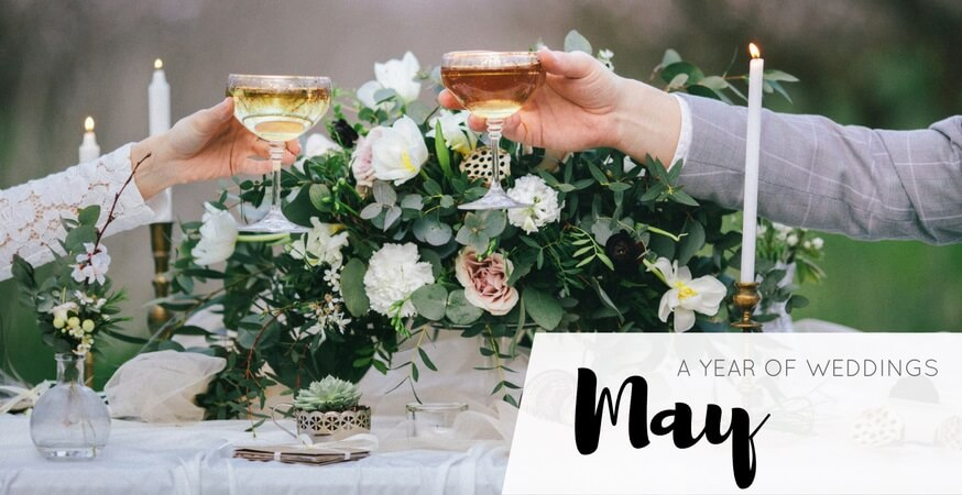 year of weddings guide month may