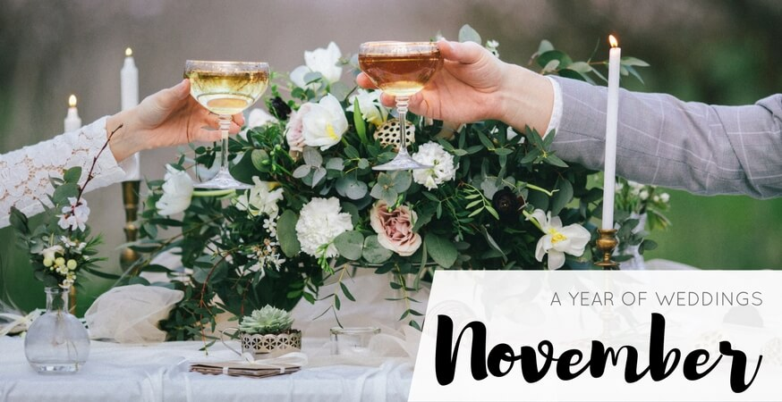 year of weddings guide month november