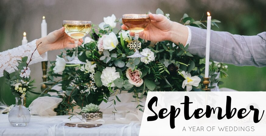 year of weddings month september