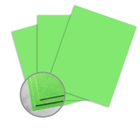 Astrobrights Martian Green Card Stock - 8 1/2 x 11 in 65 lb Cover Smooth 30% Recycled 250 per Package