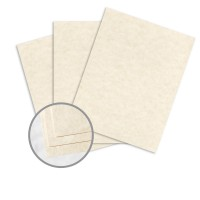 Astroparche Natural Paper - 8 1/2 x 11 in 60 lb Text Vellum 30% Recycled 500 per Ream