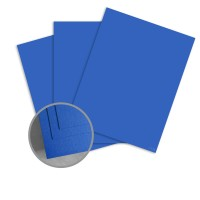 ColorMates Smooth & Silky Prussian Blue Card Stock - 12 x 12 in 90 lb Cover Smooth 25 per Package