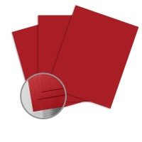 ColorMates Smooth & Silky Red Card Stock - 12 x 12 in 90 lb Cover Smooth 25 per Package