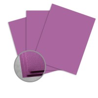 Astrobrights Planetary Purple Card Stock - 8 1/2 x 11 in 65 lb Cover Smooth 30% Recycled 250 per Package