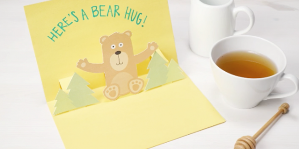 How to Make a Pop Up Greeting Card with Personal Creations